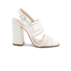 RAYE White Slingback Sandals!
